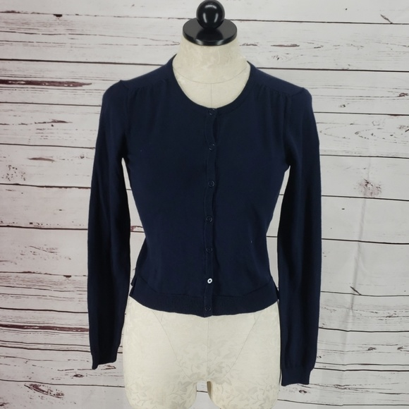 Gap Kids Fitted Navy Blue Sweater